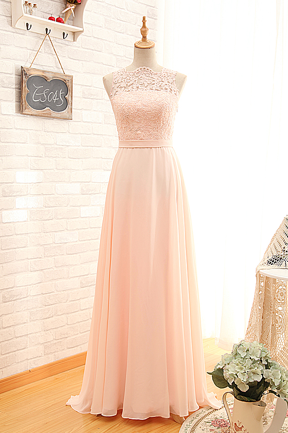 Cheap sexy open back vintage blush lace bridesmaid dresses for Cheap blush wedding dresses