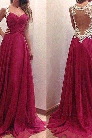 Free Shipping Sexy open Back Prom Dresses,Burgundy Graduation Dresses,Sexy Evening Dress,Sexy Burgundy Prom Dress