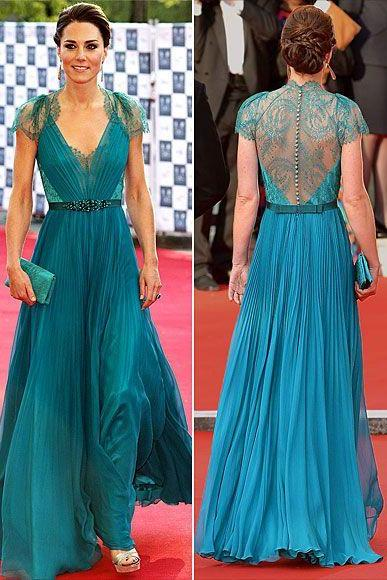 Long Cap Sleeves Prom Dresses,Teal Lace Bridesmaid Dresses,A line Sexy Open Back Evening Dress